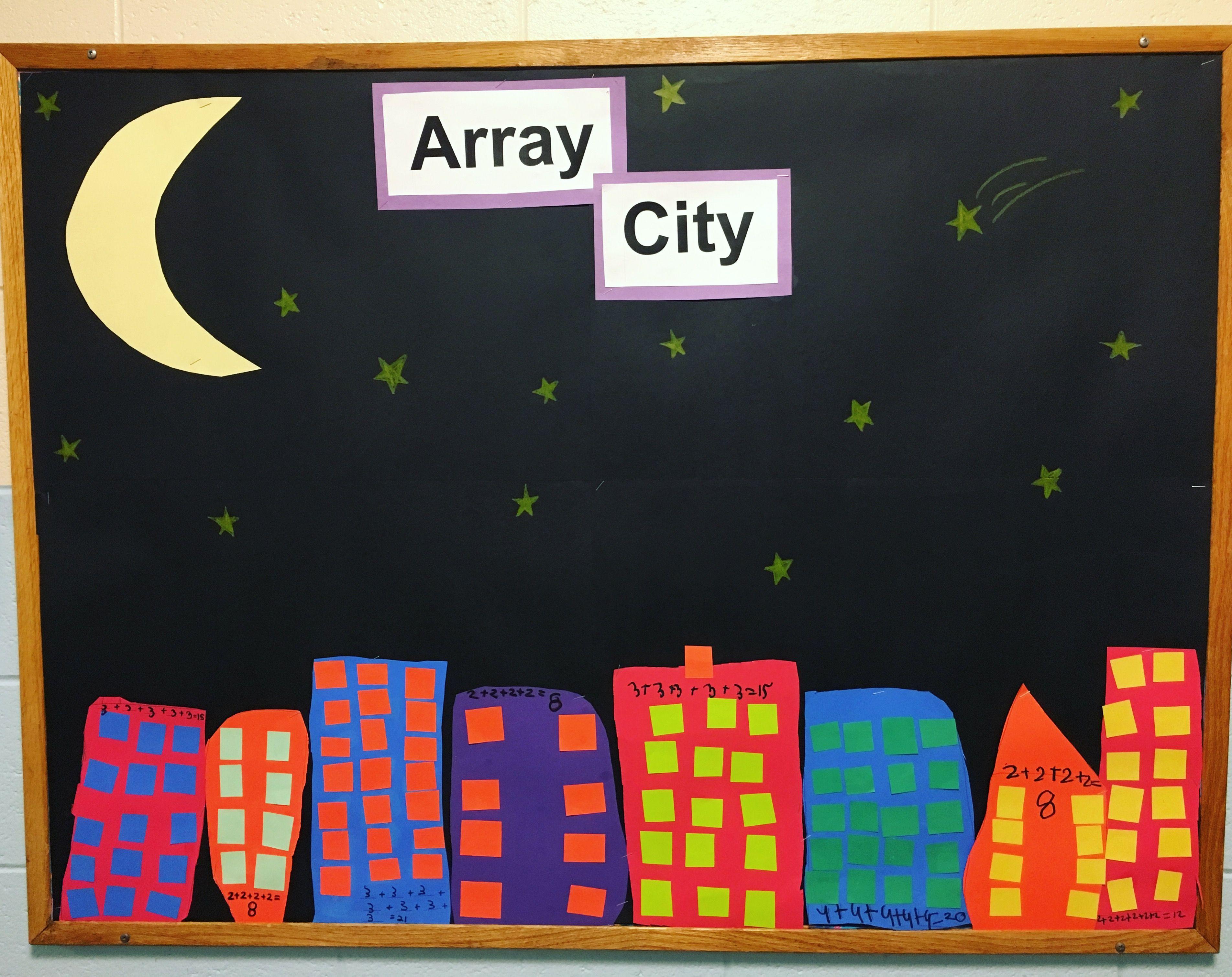 Array City Bulletin Board