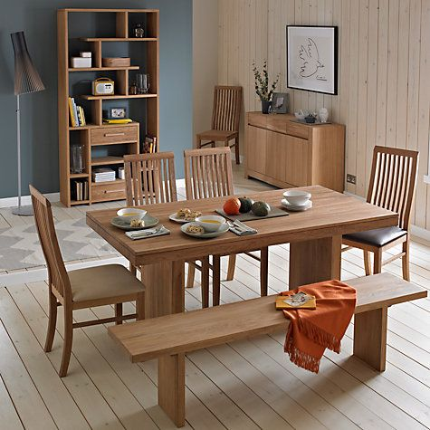 Buy John Lewis Henry 8 Seater Dining Table Online At Johnlewis Adorable John Lewis Dining Room Furniture Decorating Inspiration