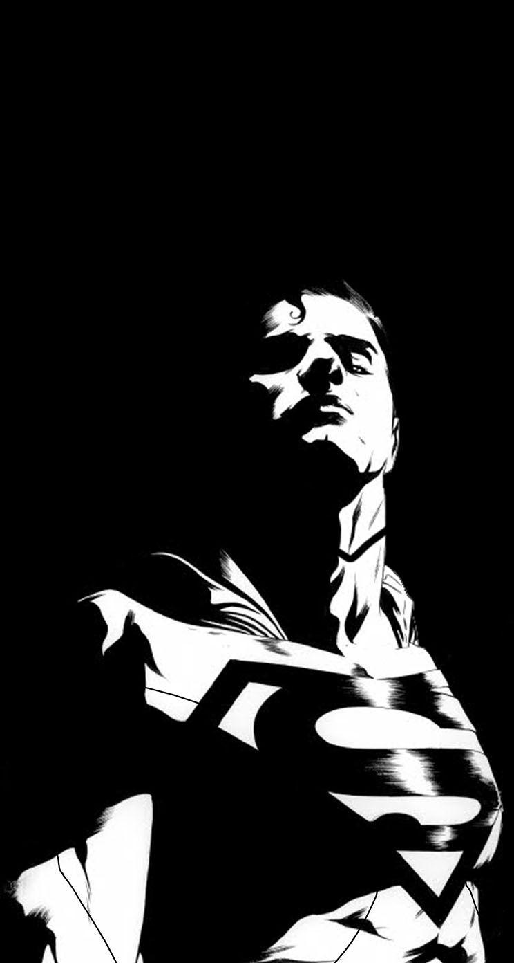 Black Man Of Steel Background