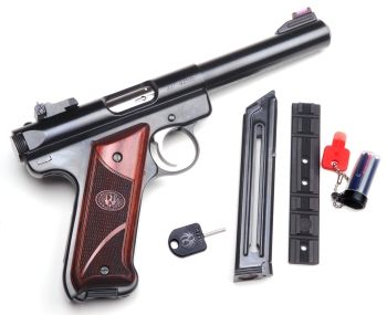 Real Guns - Trigger Tweaking Ruger's Mark III Target Pistol Find our speedloader now!  http://www.amazon.com/shops/raeind
