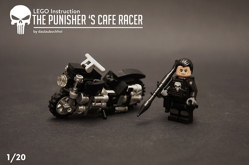 Nip To The Nearest Coffee Stop In The Punishers Cafe Racer