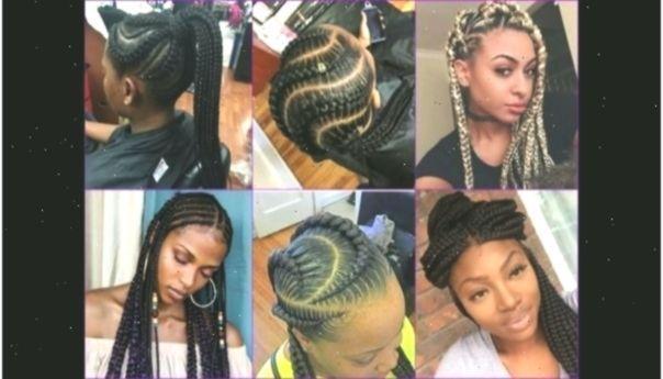 African American Half Braided Hairstyles