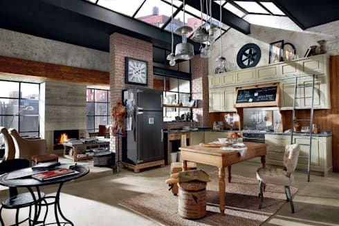 MARCHI CUCINE par MARCHI CUCINE   cucine   Pinterest   Industrial ...
