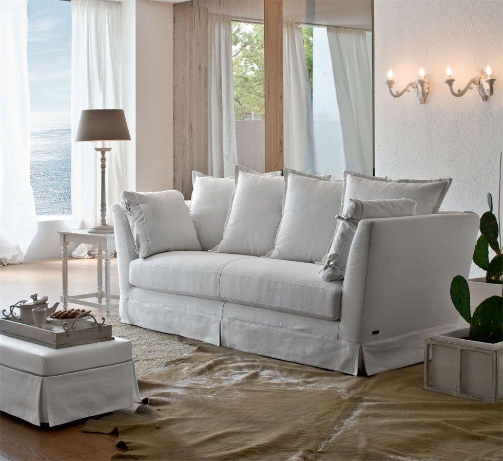 Divano bianco Eolo - Keoma salotti | Home | Pinterest | Living Room ...