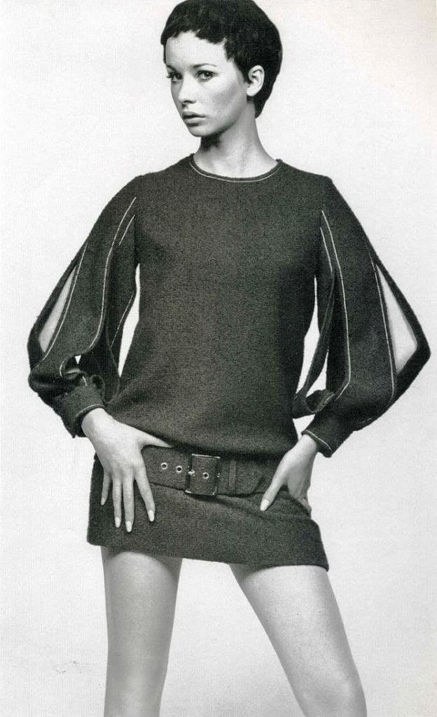 mini skirts 60's | 60s Mini Skirt photo 60s010abThenewsleeve-slashedtothelo.jpg