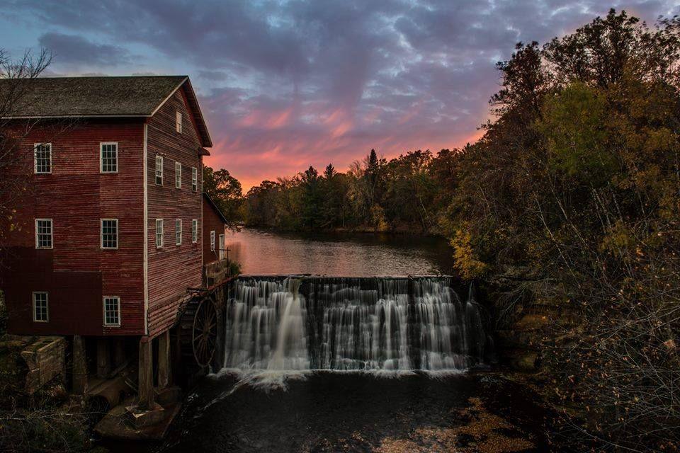 The Dells Dam Mill Eau Claire Wisconsin 1909 postcard   eBay