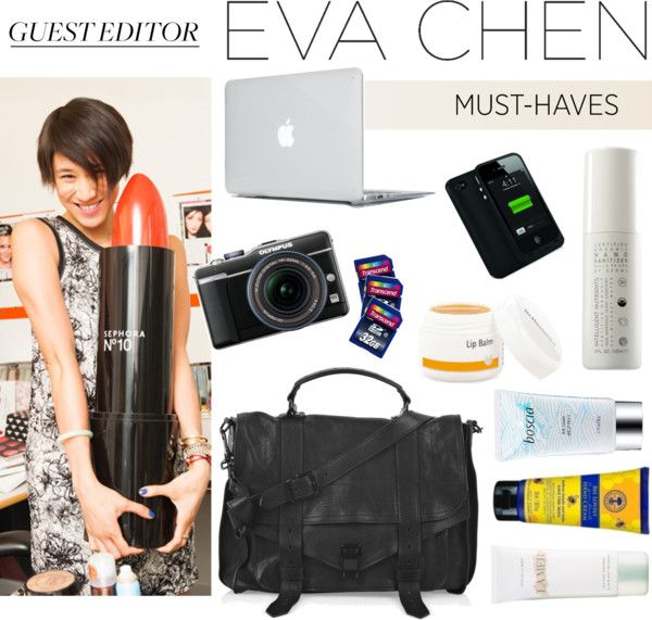 """""""Guest Editor: Eva Chen"""" by evachen212 ❤ liked on Polyvore"""