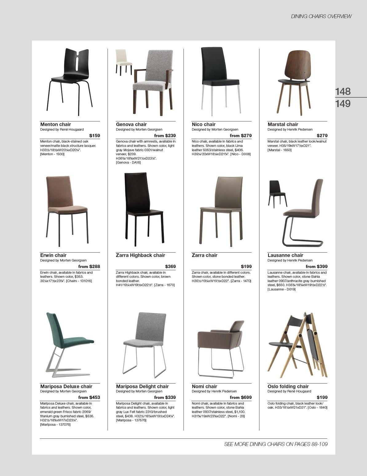 Mariposa urban Dining designFurniture Chair BoConcept GqLUMVpSz