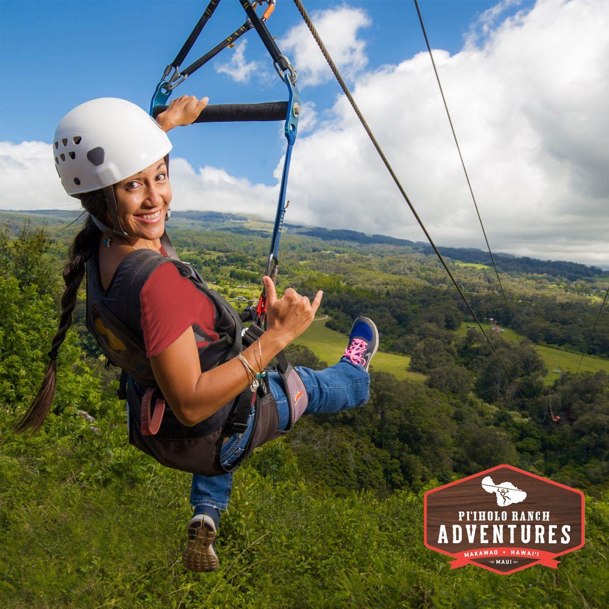 Maui Zipline Piiholozipline Com Adventuretravel Travel Adventure Ttot Travelboldly Action Nature Explore Islands H Trip To Maui Ziplining Maui Travel