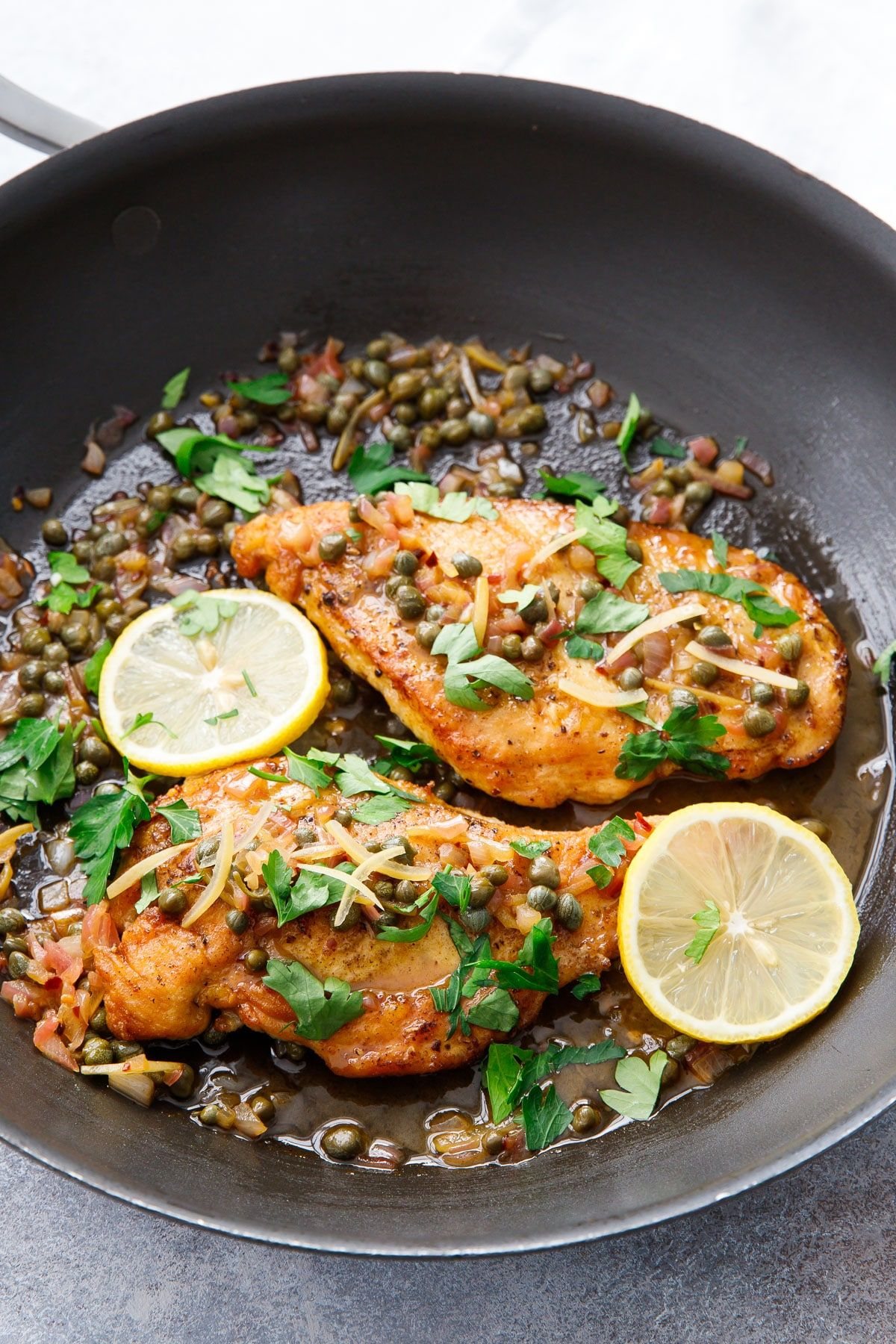 Chicken Piccata With Preserved Lemons Recipe Easy Chicken