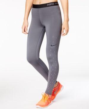 77a97e15275d2 Nike Pro Warm Base-Layer Fleece-Lined Leggings - Blue | Products