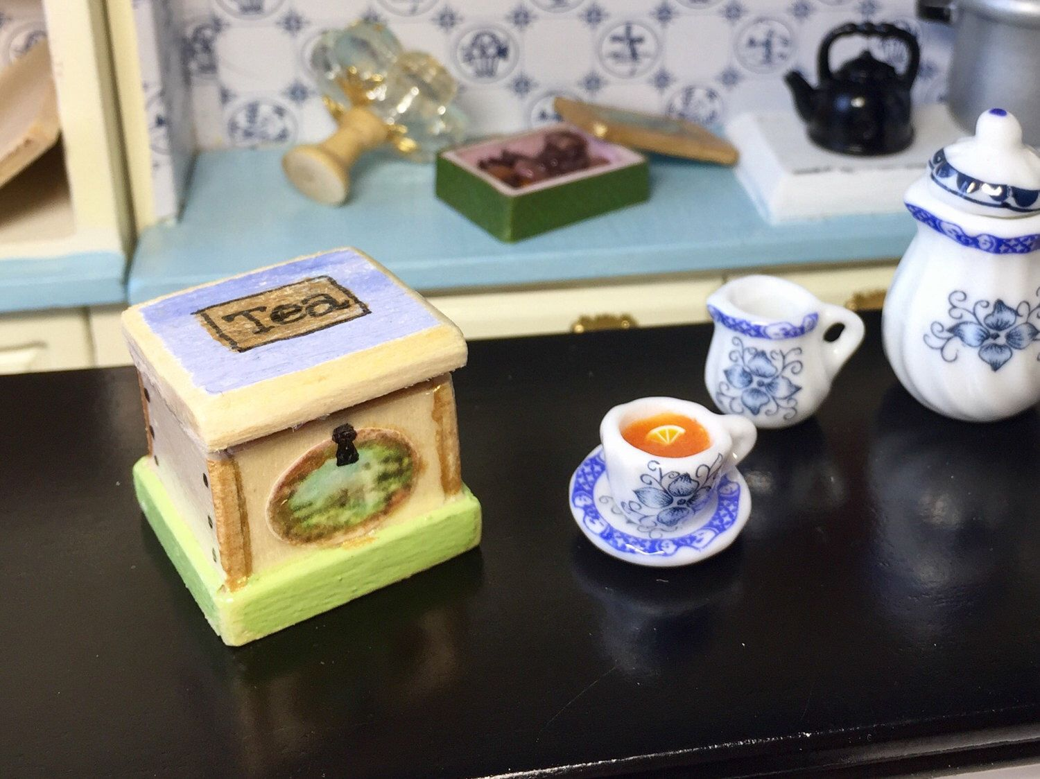 A personal favourite from my Etsy shop https://www.etsy.com/uk/listing/510143431/dollhouse-miniature-kitchen-accessories