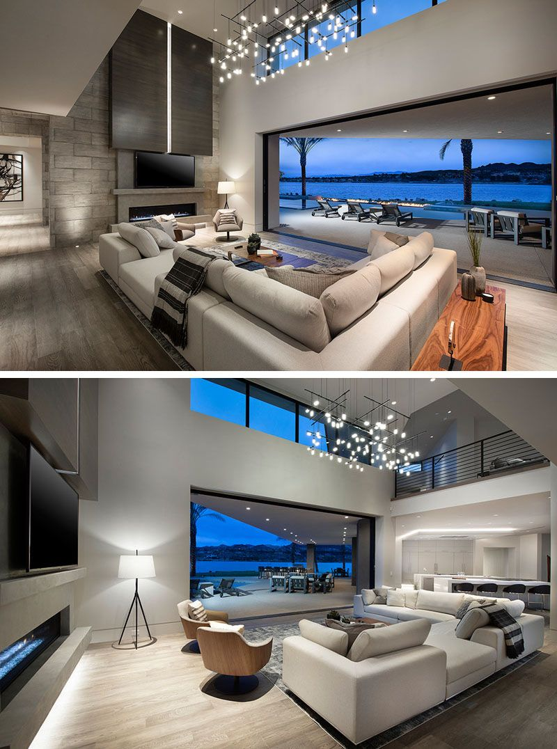 This House In Las Vegas Is Like Living On An Island In The Desert Latest Living Room Designs Living Room Renovation Home Room Design
