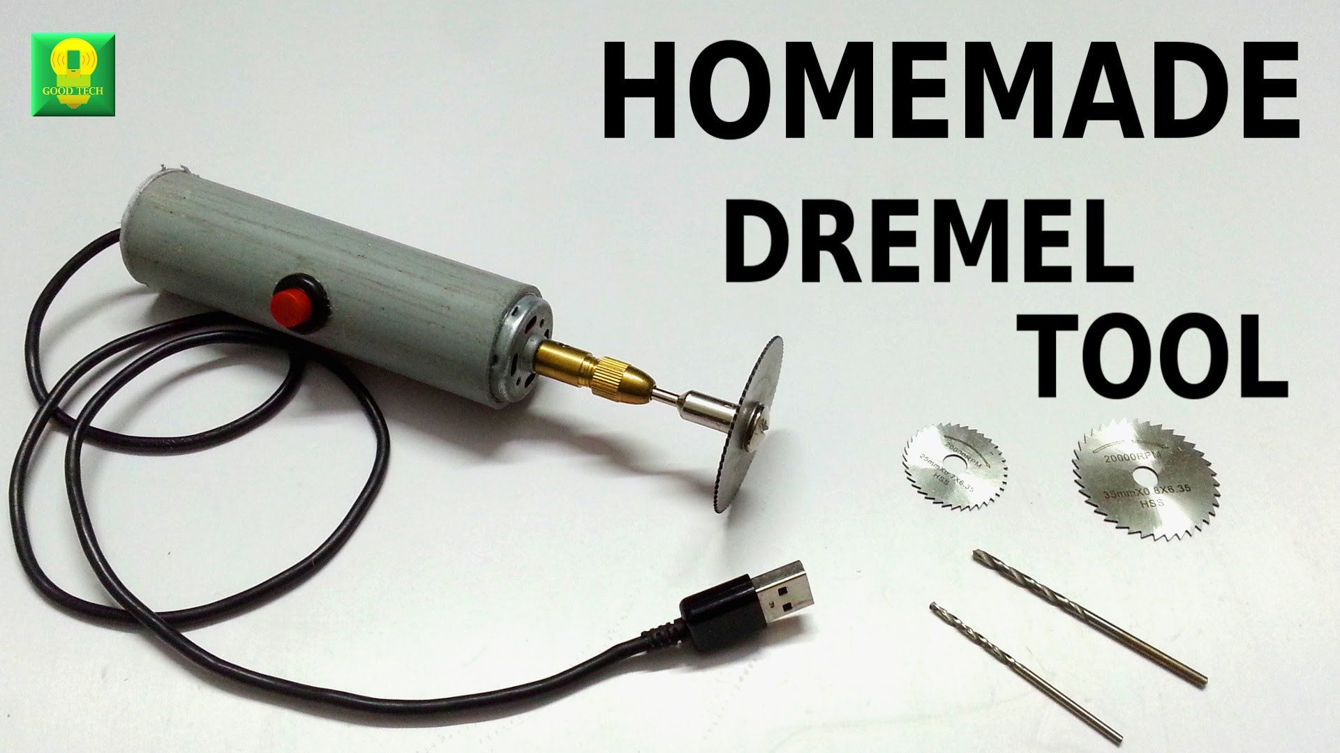 How To Make Powerful Dremel Tool At Home