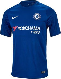 d0e665fc8 2017 18 Kids Nike Chelsea FC Home Jersey. Shop for this shirt at SoccerPro.