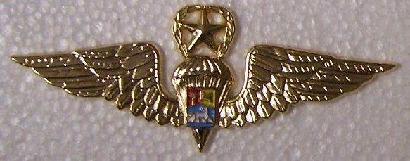 Venezuela Master Jump Wings | BRITISH ARMY | Military insignia