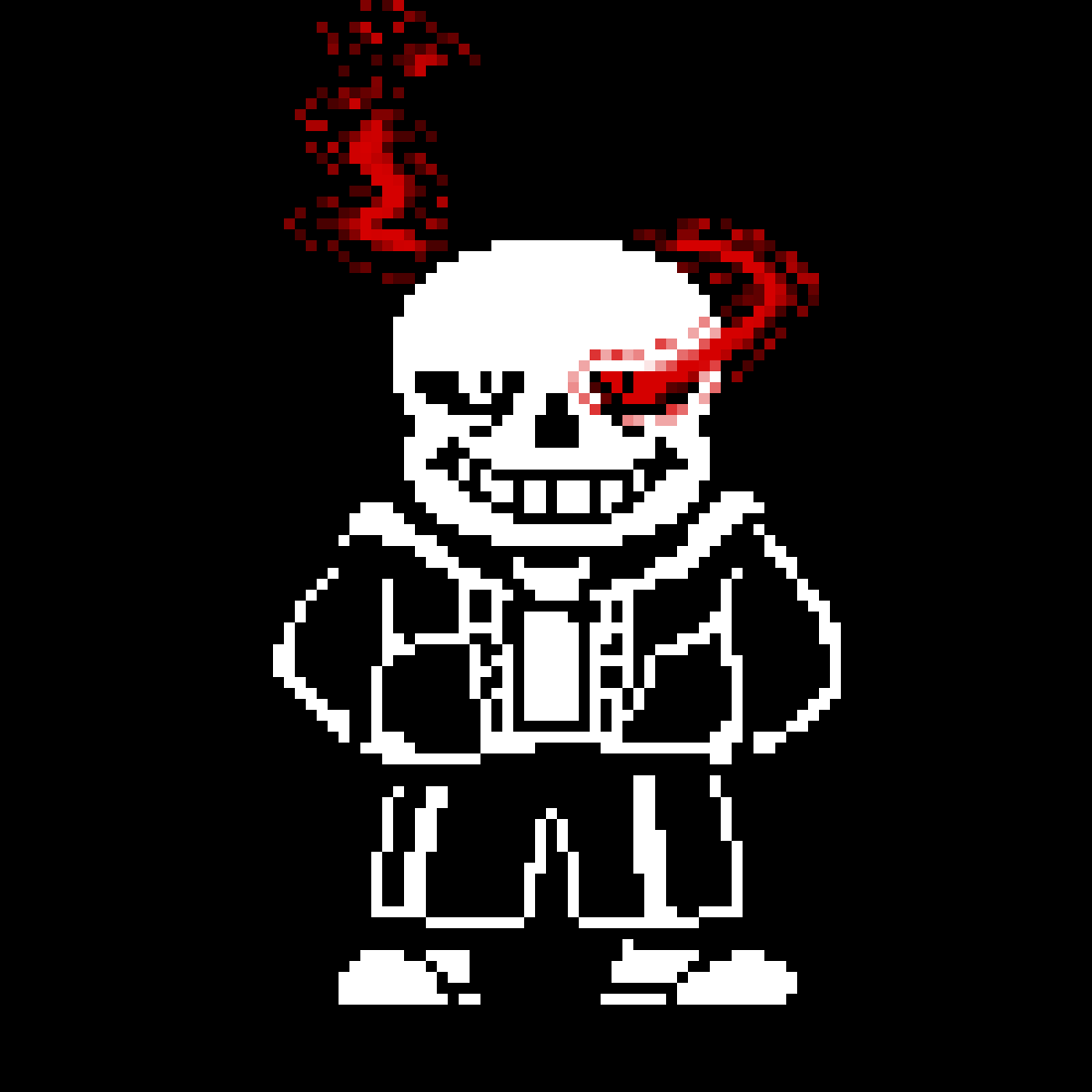 Original Sans Sprite By Toby Fox Edited By Me Here Is The Theme Https Www Youtube Com Watch V Asbyf2io9tw Color Palette Challenge Pixel Drawing Pixel Art