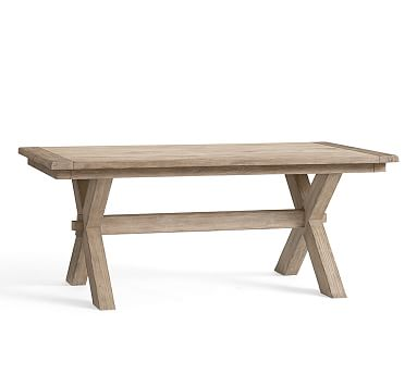 Toscana Extending Dining Table, 60 X Vintage Spruce Finish Images