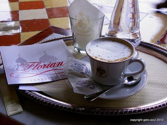 Cappuccino at Florian's -Venezia