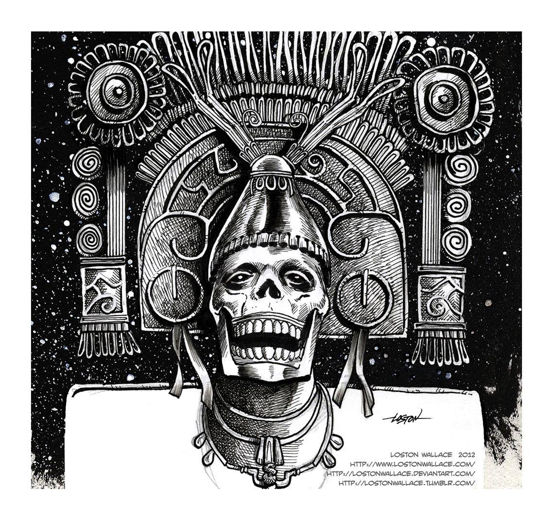 ah puch mayan death god | Tattoo ideas | Pinterest | Death, Death ...