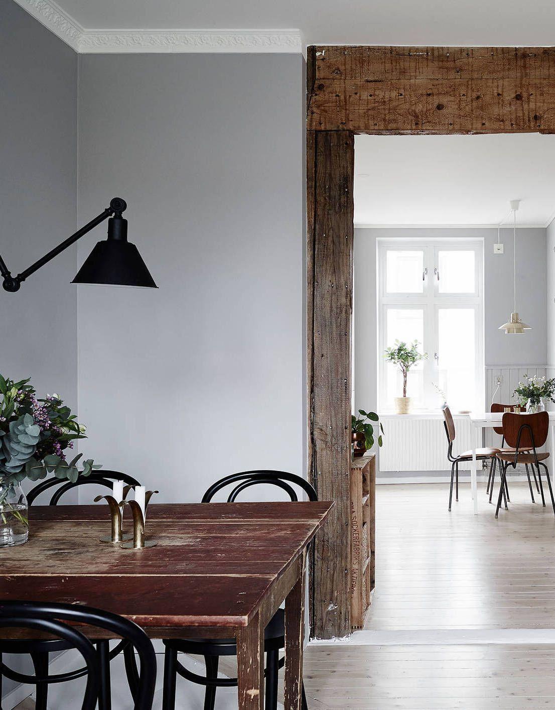 Soft Grey Home Via Cocolapinedesigncom Living Room - Apartment soft minimalist decor