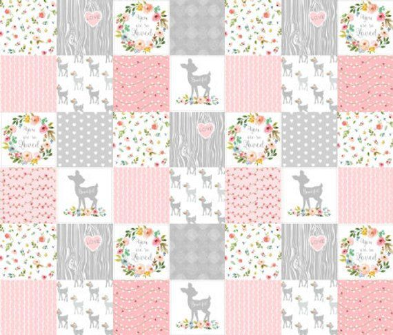 eac5cd64bd29 Fawn Patchwork Fabric
