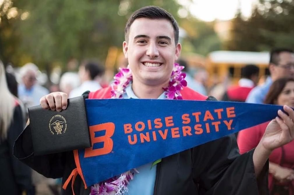 Bsu Graduation 2020.At Graduation Spencer Nishihira From Monte Vista High School