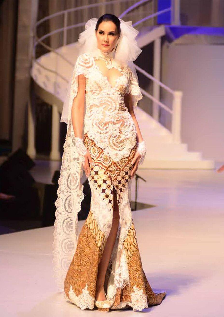 50 Gambar Model Baju Kebaya Pengantin Elegan Dan Modern Ayeey