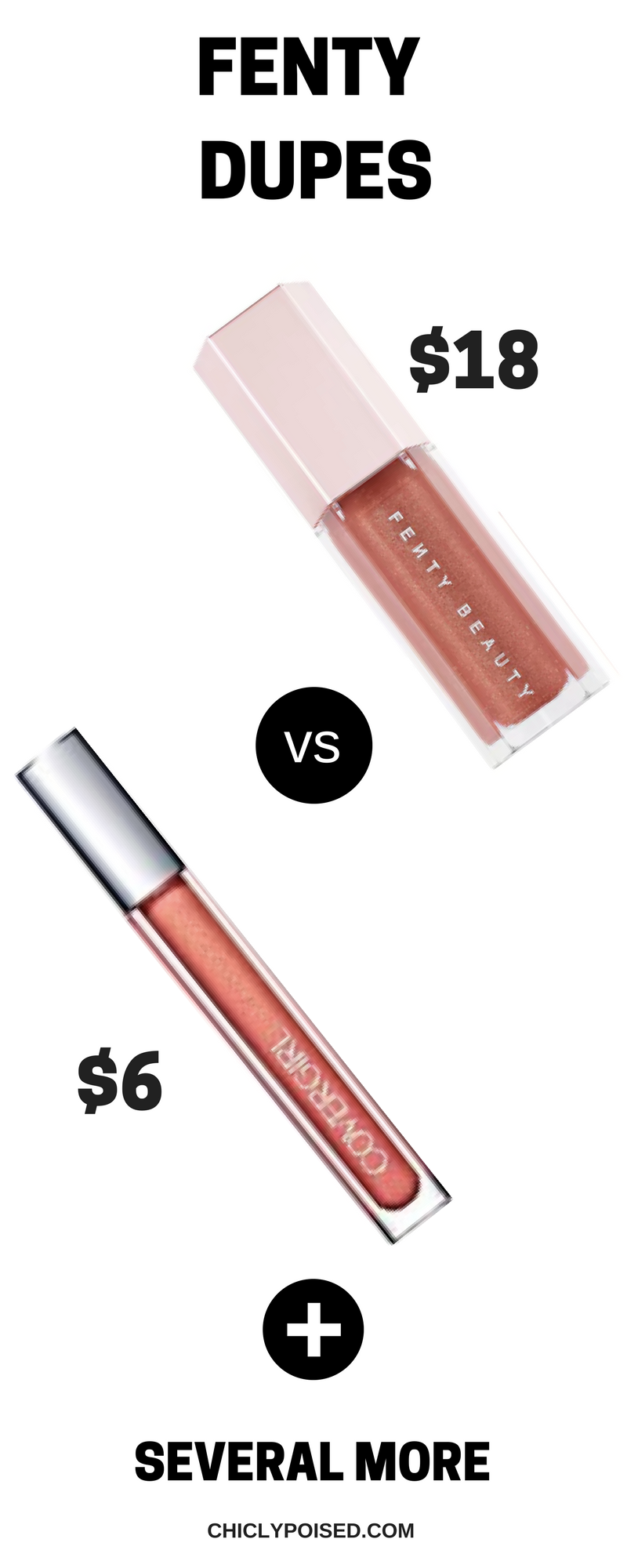 Save Money With These Fenty Dupes Plus Tips Fenty Dupes covergirl give me guavaFenty Dupes covergirl give me guava
