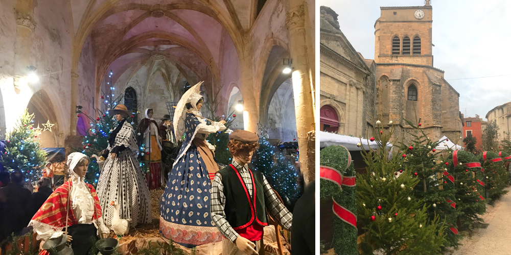 A fairylike Christmas at the Féeries de Noël in Aniane in