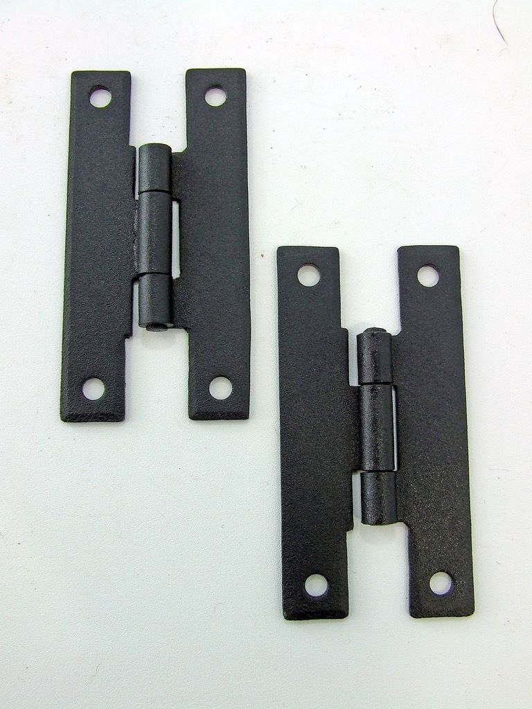 H Hinges Cabinet Door Furniture Hinge Forge Iron 3 Black Vh88585011