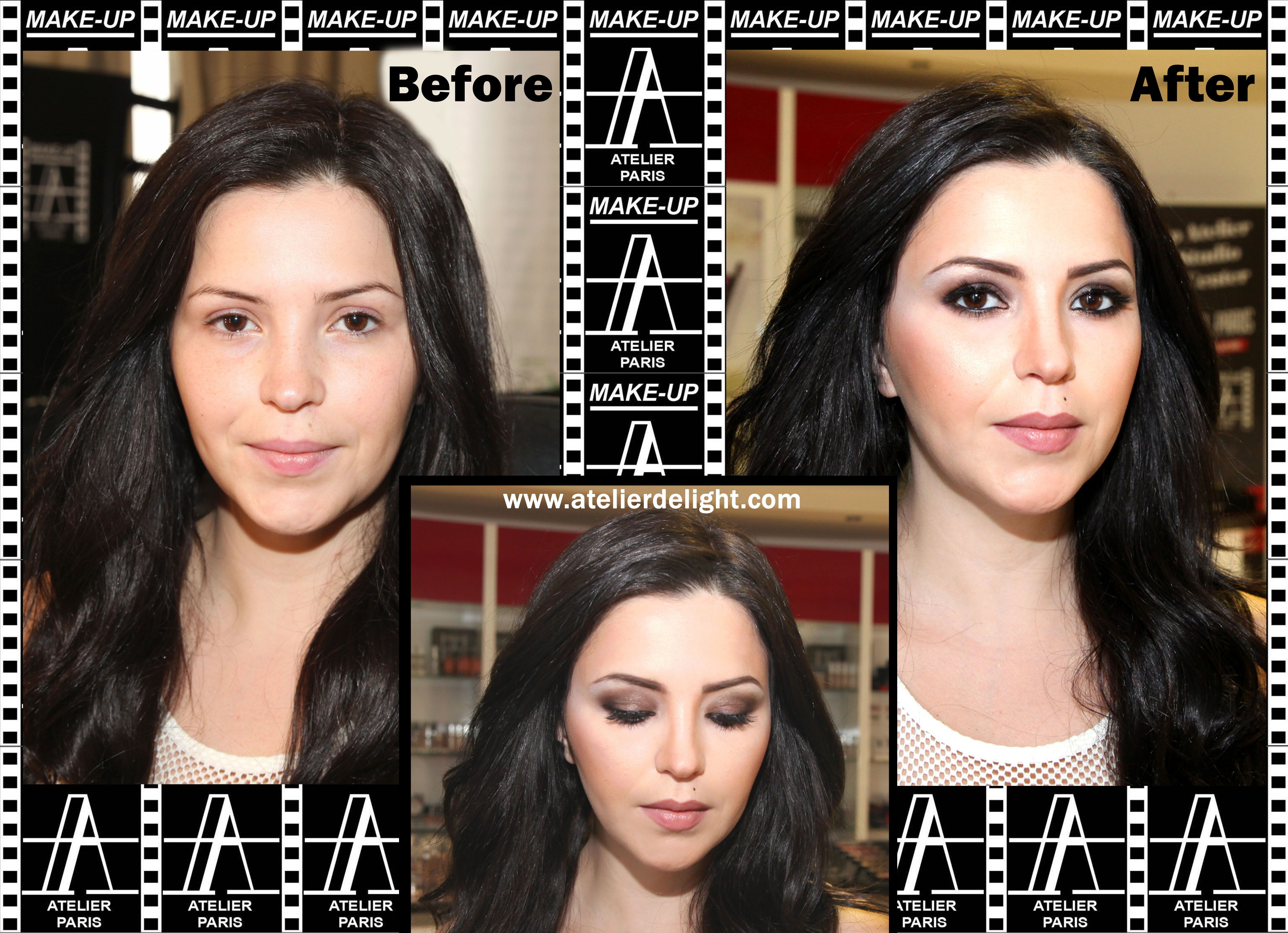 MakeUp Atelier Training Center shows the perfect makeup