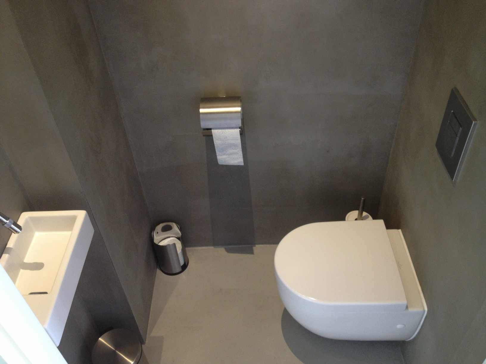 Toilet Beton Cire : Image result for beton cire vloer wit bathrooms