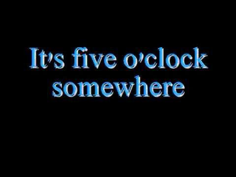 Alan Jackson And Jimmy Buffett It S Five O Clock Somewhere