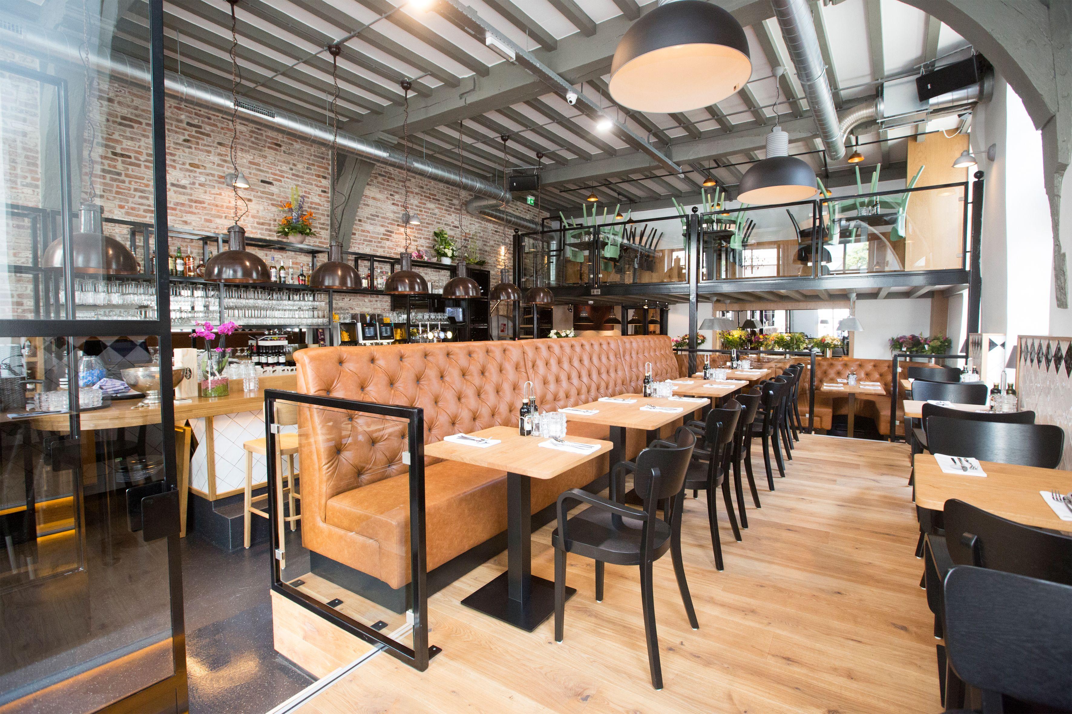 Horeca Meubels Amsterdam : Horeca meubelen projecten inrichting restaurant zitbank
