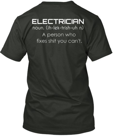 b22084c45 Limited Edition - ELECTRICIAN | Me | Welding, Shirts, Welding projects