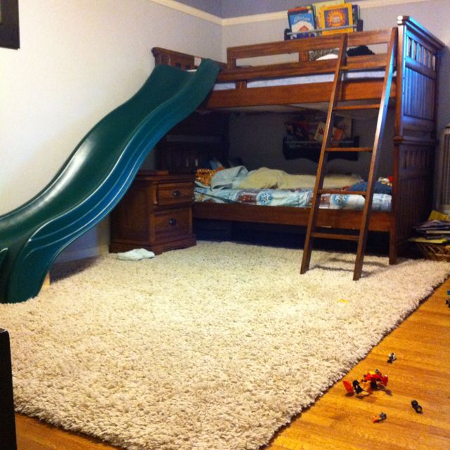 Do It Yourself Home Design: I Think Slides On Beds Are The Coolest Things Ever