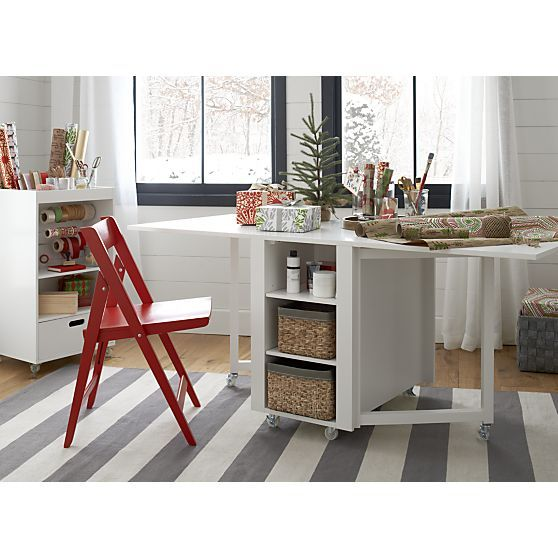 Our Exclusive Versatile Table And Storage Cart Hybrid Is The Perfect Solution For Arts Crafts Gift Wring Puzzles Homework