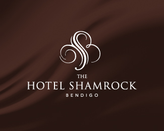 Hotel shamrock luxury logo branding inspiration for Design hotel logo