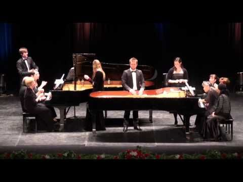 12 Pianists: Alexander Yossifov Danza Archaiqua 2 pianos 24 hands