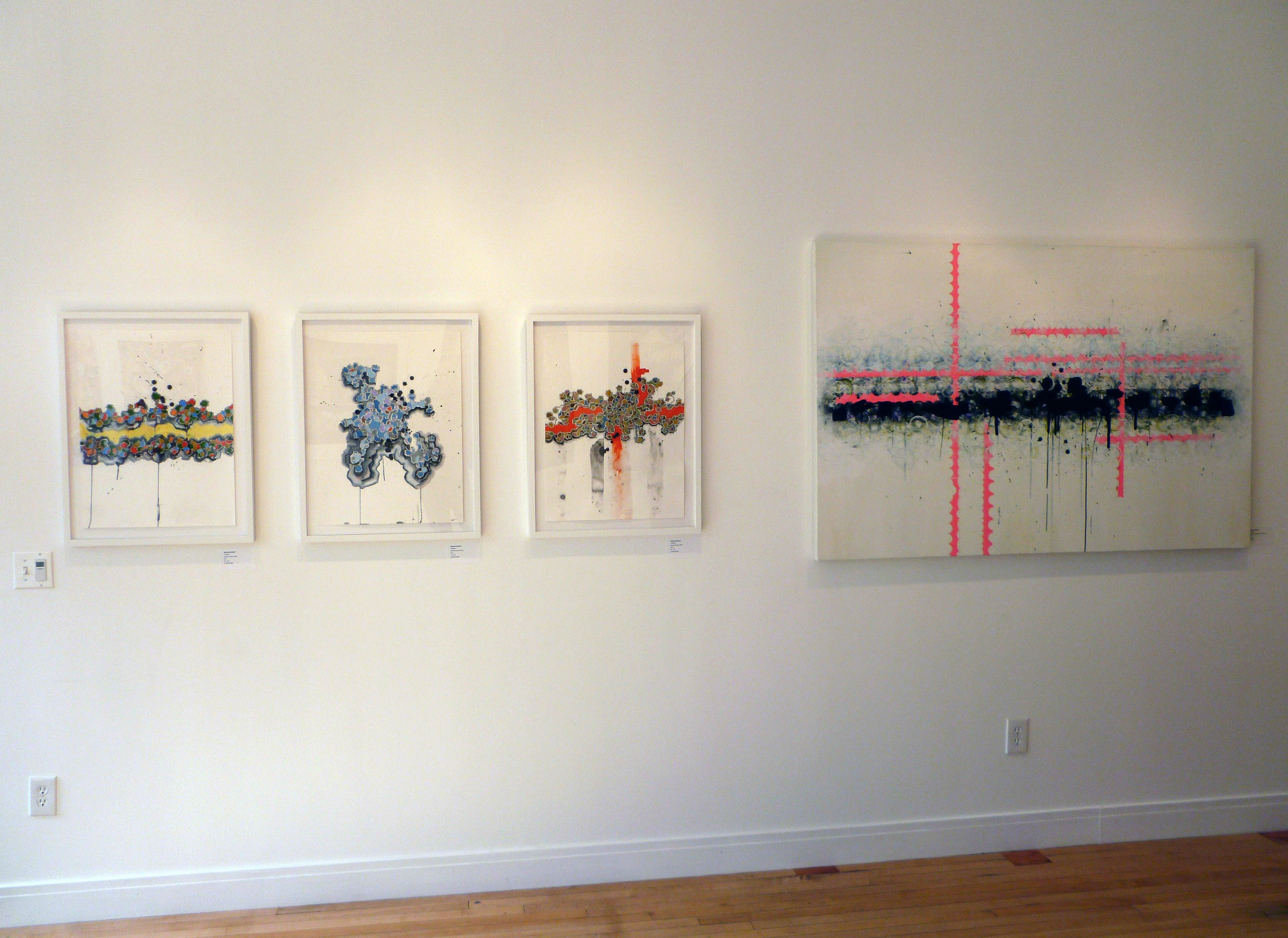 """""""Assemble"""" Group Show May 2012 with Michael Rodriguez #michaelrodriguez #verticalgallery"""