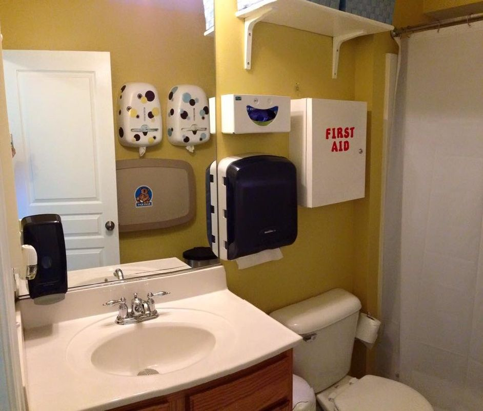 Corporate Bathroom Ideas: Childcare Bathrooms & Changing Areas