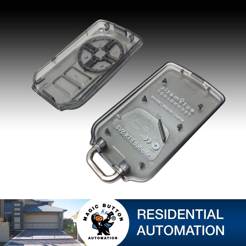 10 X Garage Door Remote Enclosure Cover Only Part Ptx5 Now Green Button With Images Garage Door Remote Garage Doors Residential Automation