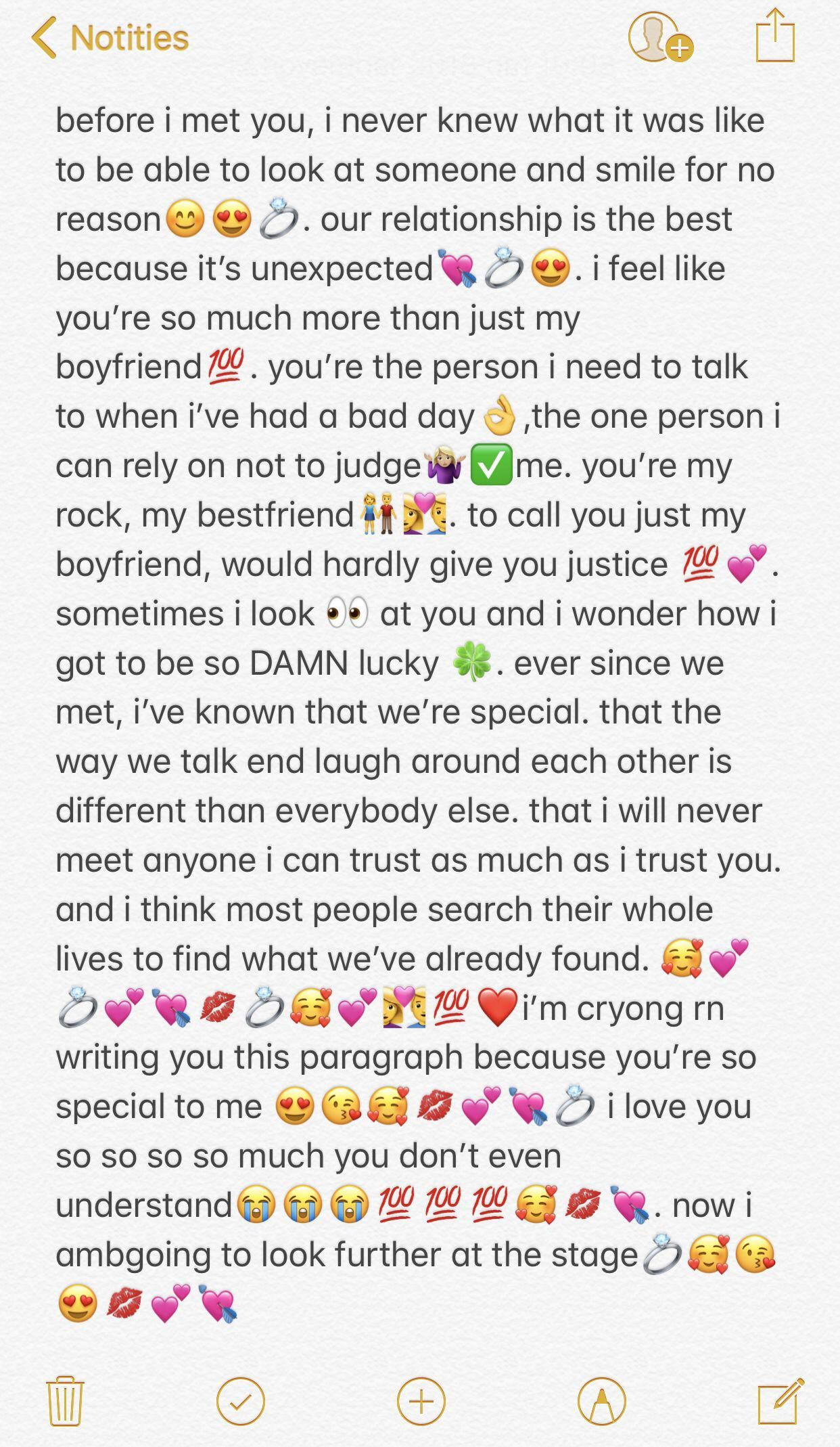 Pinterest: @mikaylaneal | Cute relationship texts, Love ... |Cute Things Say Text Your Boyfriend