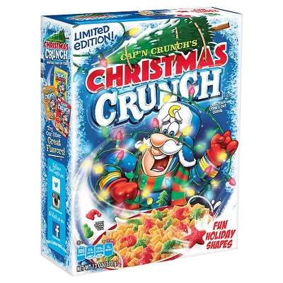 Cap N Crunch S Christmas Crunch Cereal 13oz General Mills