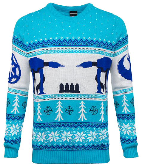 Star Wars ATAT Hoth Unisex Knitted Christmas Sweater