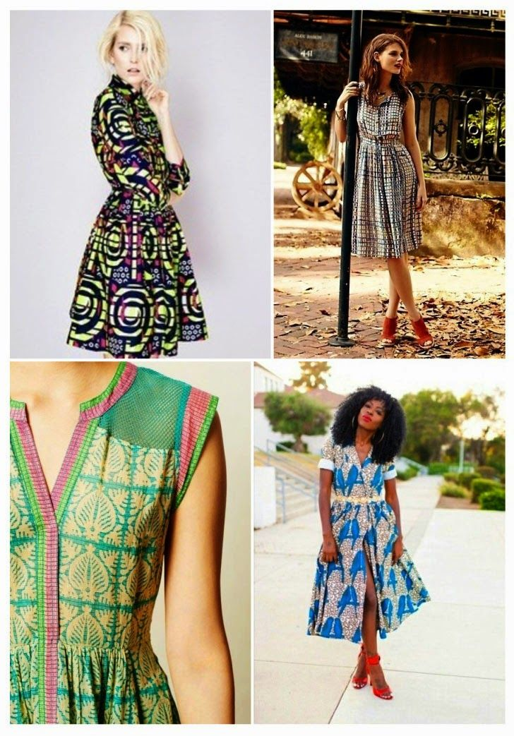 Idle Fancy: From Plaids to Flowers: Shirtdress Inspiration