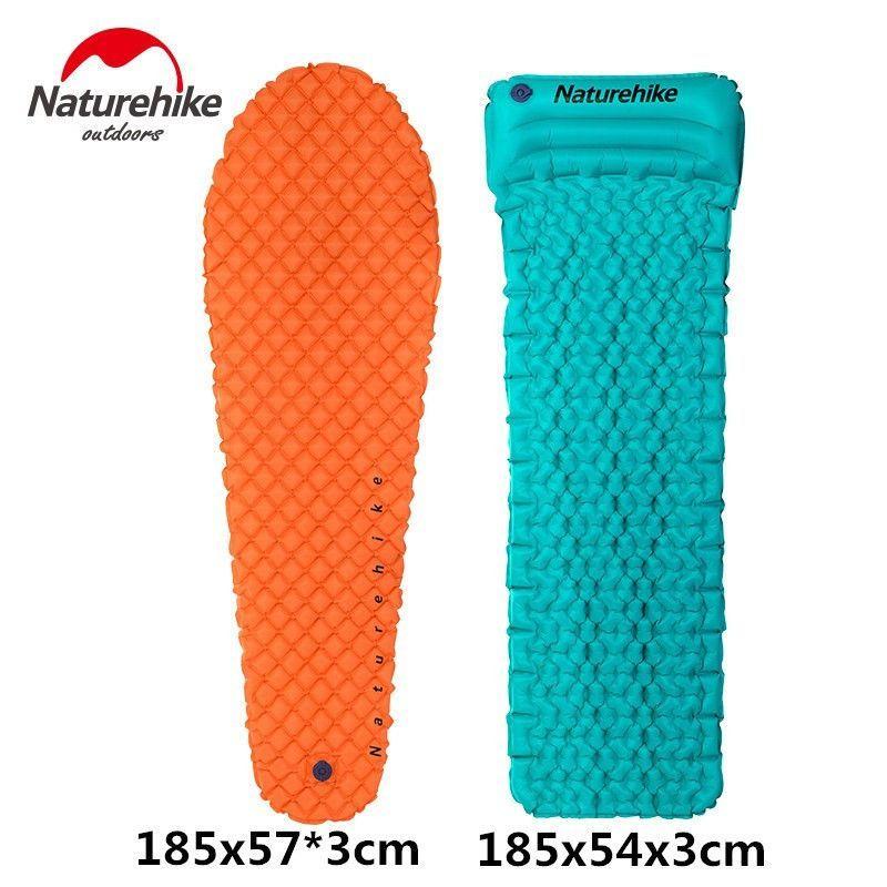 NatureHike Foldable Inflatable Camping Mat Sleeping Pad Air Mattress Water Float