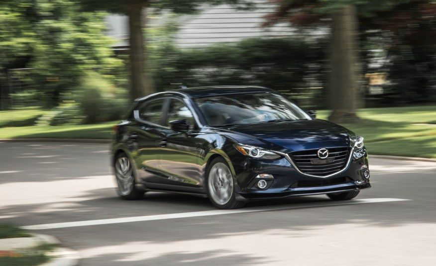The Latest 2015 Mazda 3 Hatchback Car Pictures