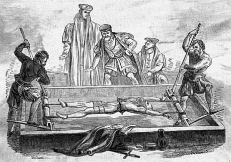 Torture - Middle Ages, the Rack